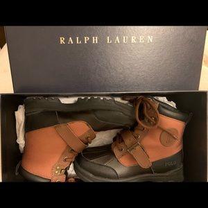 Ralph Lauren Polo Boots - Boys Size 13.5.